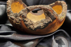 Persimmon Live Edge Bowl Image 1
